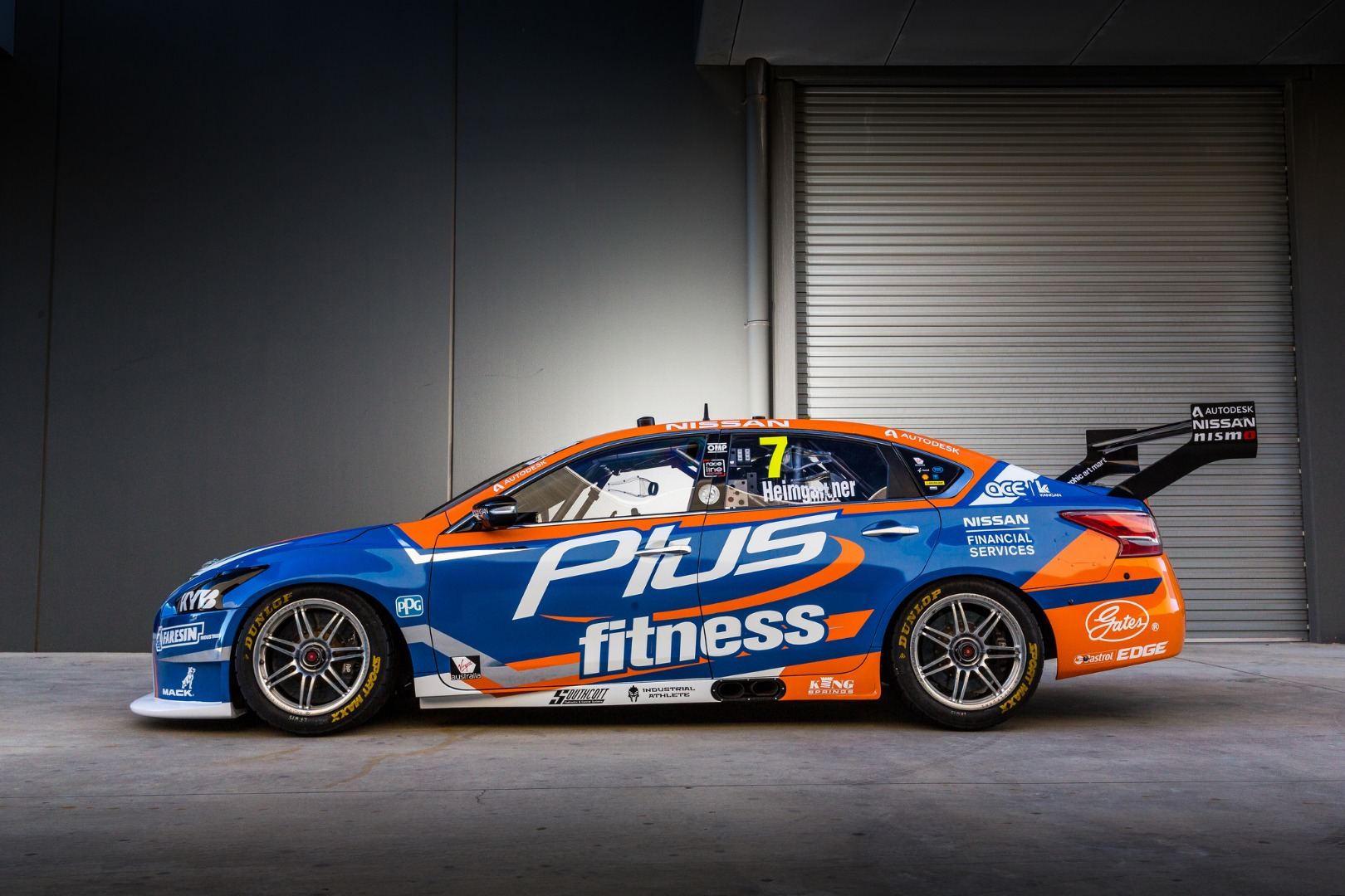 Plus Fitness Team up with Nissan Motorsport